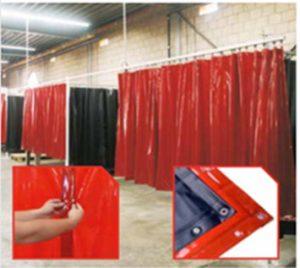 Welding curtains INWESA